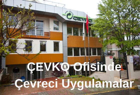 ÇEVKO Vakfı Yönetim Binasında Aldığı Önlemlerle Çevresel Ayak İzini Azaltıyor