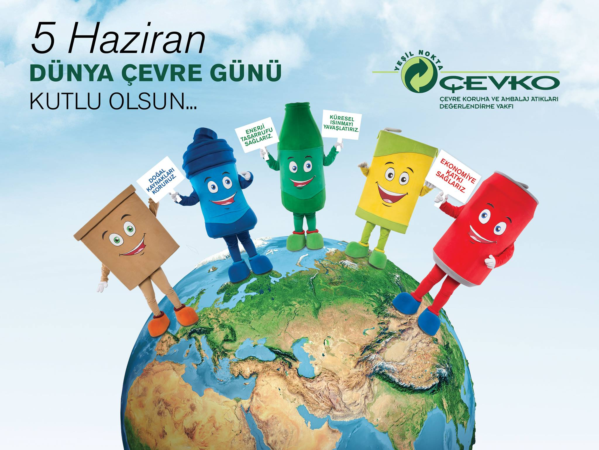 Recycling Mobilization with �EVKO within the Environment Week