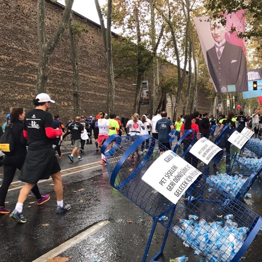 39. İstanbul Maratonu'nda Çevre Kazandı