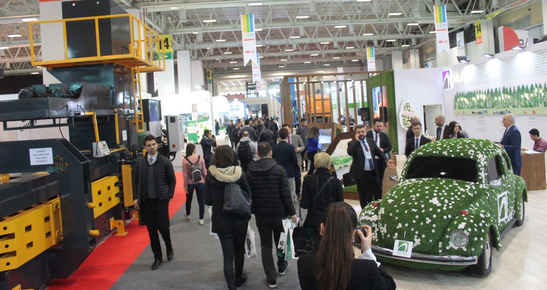 Recycling, Environmental Technologies, and Innovations in Waste Management Meet at REW İstanbul Fair