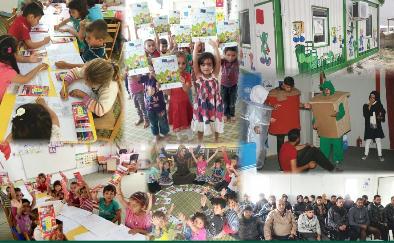Recycling Project for Syrian Refugees