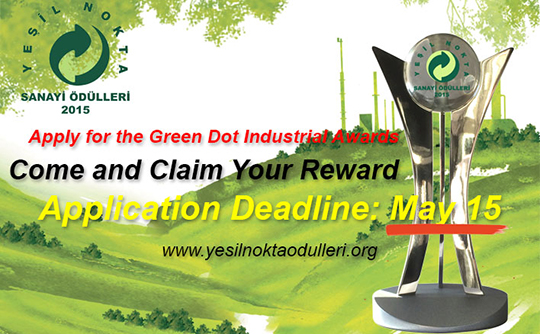1. Appl�cat�ons To 2015 Green Dot Industr�al Awards Cont�nue, Deadl�ne For Appl�cat�ons Is 15 May!